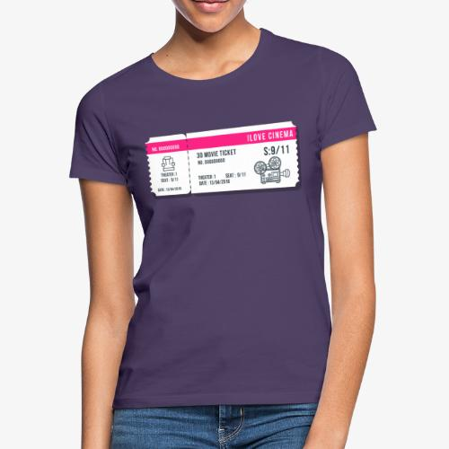 Cinema 2 - Camiseta mujer