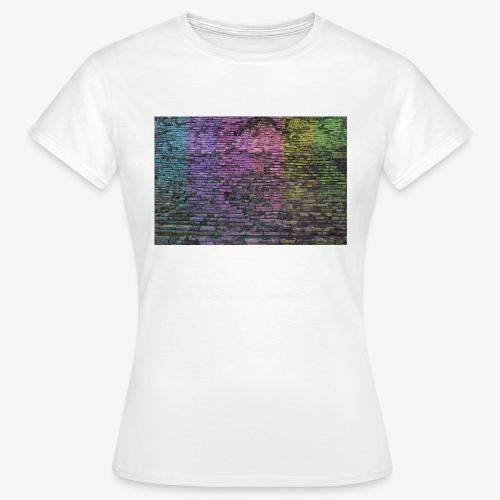 Regenbogenwand - Frauen T-Shirt