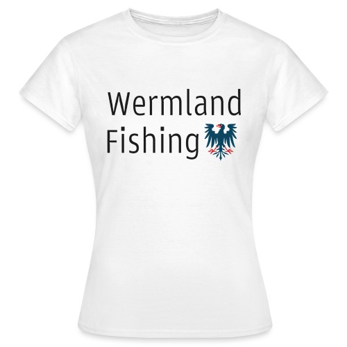 Wermland Fishing (Standard blue) - T-shirt dam