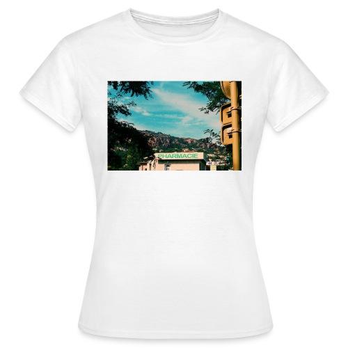 Pharmacie - T-shirt dam