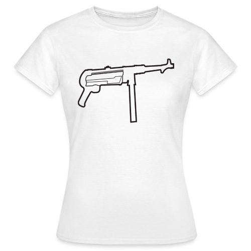 Mp40 german gun maschinenpistole 40 - Women's T-Shirt