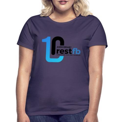 10years RestFB - anniversary logo - Women's T-Shirt