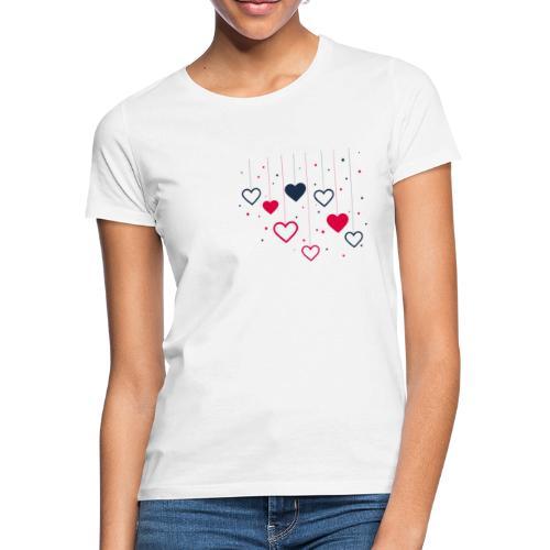 Cuori - Maglietta da donna