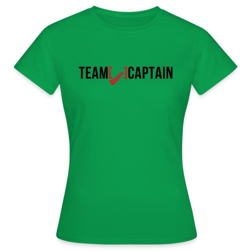 Team Captain Shirt Red png - Women's T-Shirt