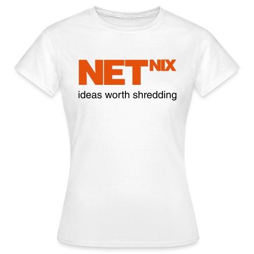 netnix - Vrouwen T-shirt