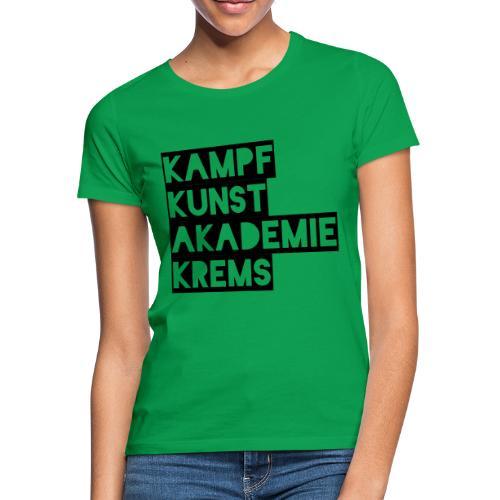 KKA 2016 lifestyle back2 - Frauen T-Shirt