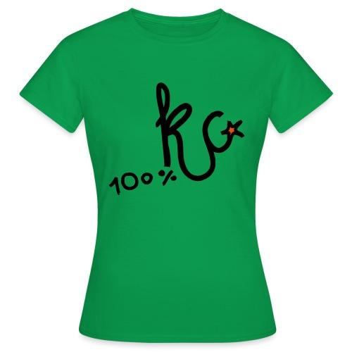 100%KC - Vrouwen T-shirt