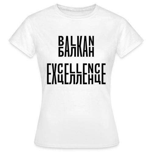 Balkan Excellence vert. - Women's T-Shirt