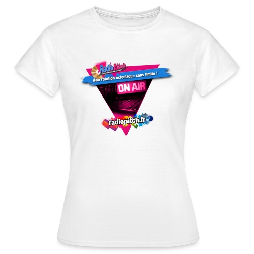 logo radipitch 2021 triangle - T-shirt Femme