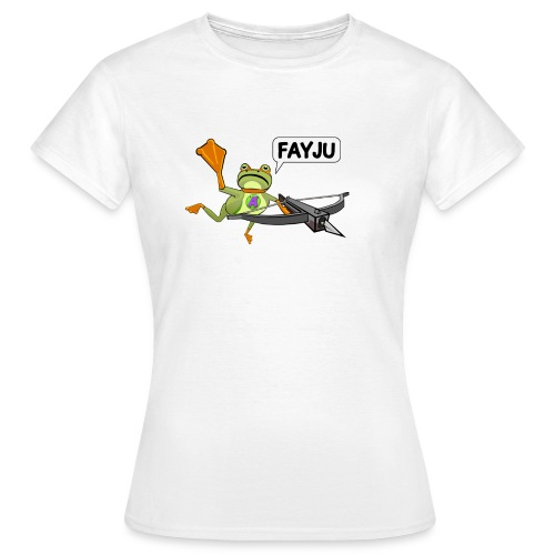 Amazing Frog Crossbow - Women's T-Shirt