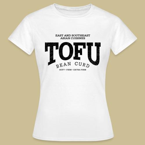 Tofu (black oldstyle) - Frauen T-Shirt
