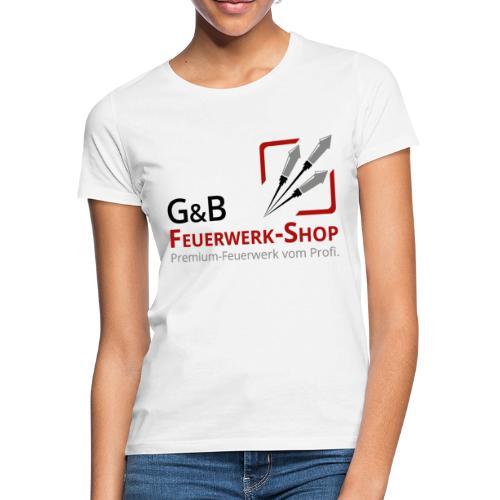 G & B Feuerwerk Shop Logo - Frauen T-Shirt