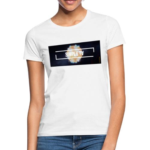 DESIGN SIMPLY-TV - T-shirt Femme