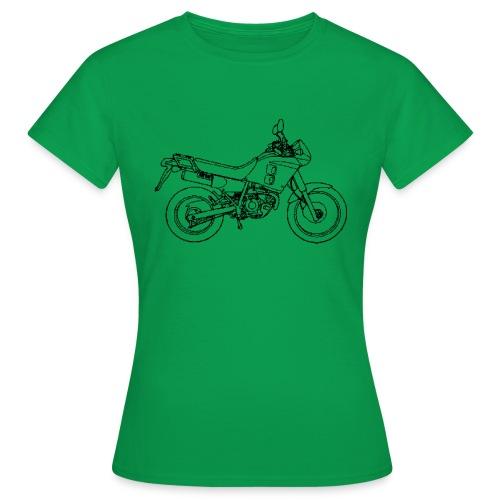 NX250 zijaanzicht zwart - Vrouwen T-shirt