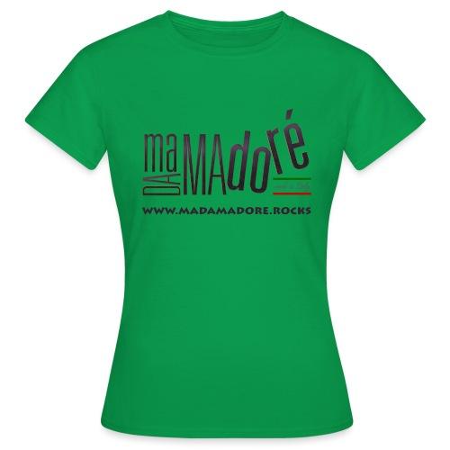 T-Shirt Premium - Uomo - Logo Standard + Sito - Maglietta da donna