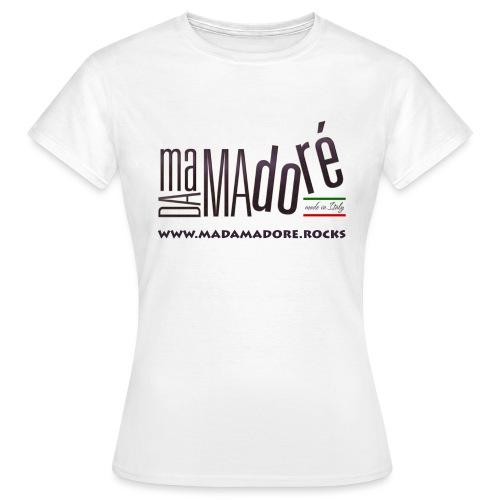 T-Shirt - Donna - Logo Standard + Sito - Maglietta da donna