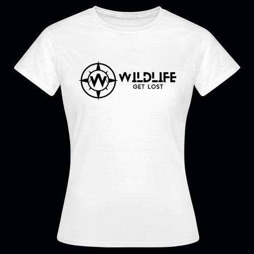 LOGO E SCRITTA WILDLIFE - Maglietta da donna