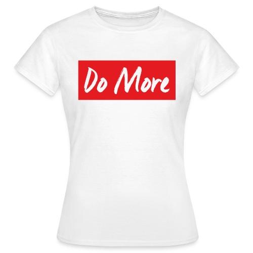 white logo color background - T-shirt Femme