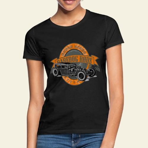 Raredog Rods Logo - Dame-T-shirt