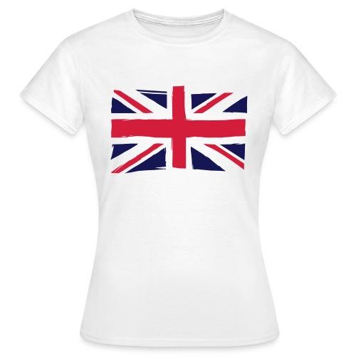 vlag engeland - Vrouwen T-shirt