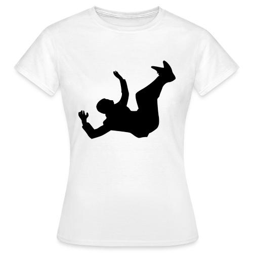 Fallender Mann - Frauen T-Shirt