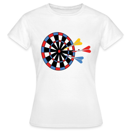 Dartboard with Darts - Vrouwen T-shirt