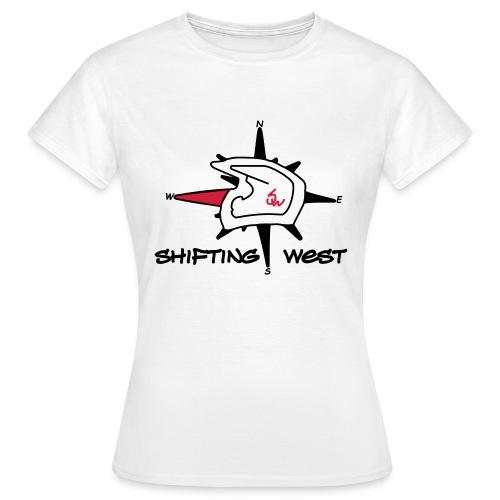 Shifting West Logo vector - Vrouwen T-shirt