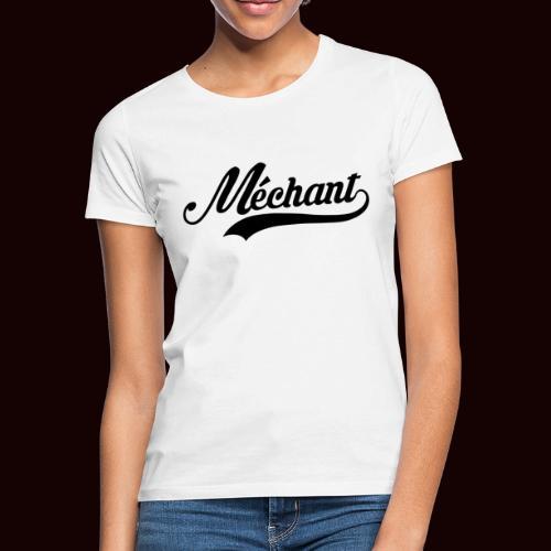 mechant_logo - T-shirt Femme