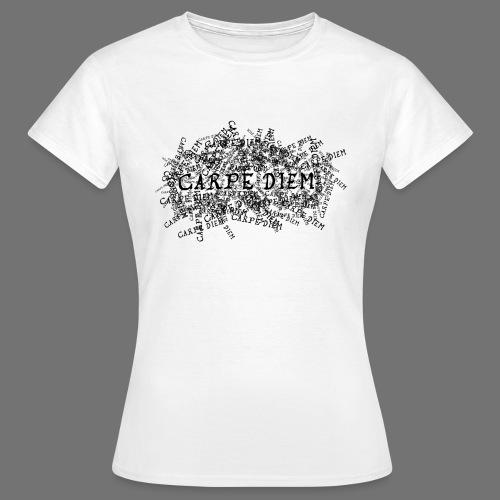 carpe diem (black) - Women's T-Shirt