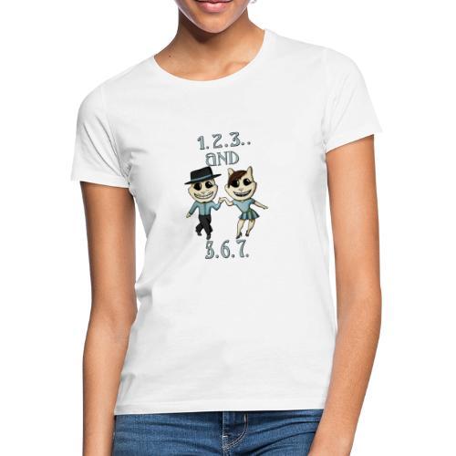 salsa 1 2 3 - Vrouwen T-shirt