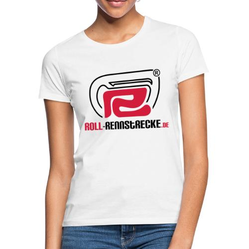 Roll-Rennstrecke Logo - Frauen T-Shirt