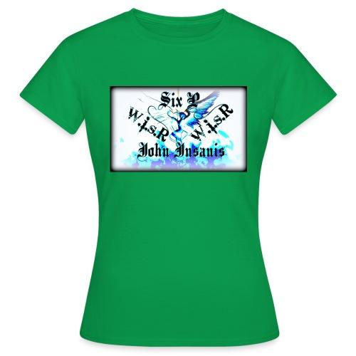Six P & John Insanis WISR -Huppari- - Naisten t-paita