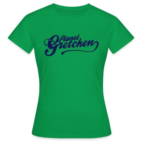 Planet Gretchen svart - T-shirt dam