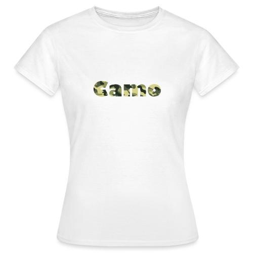Camo Designs - Vrouwen T-shirt