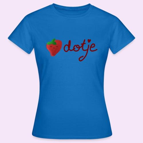 Baby aardbei Dotje - cute - Vrouwen T-shirt