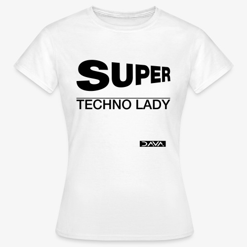 Techno Lady - black - Women's T-Shirt