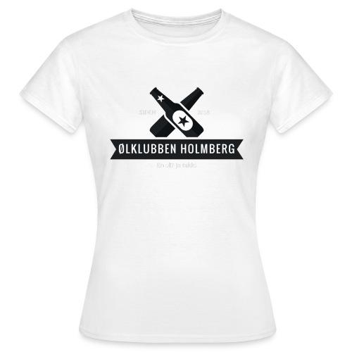 Øl-forkle - T-skjorte for kvinner