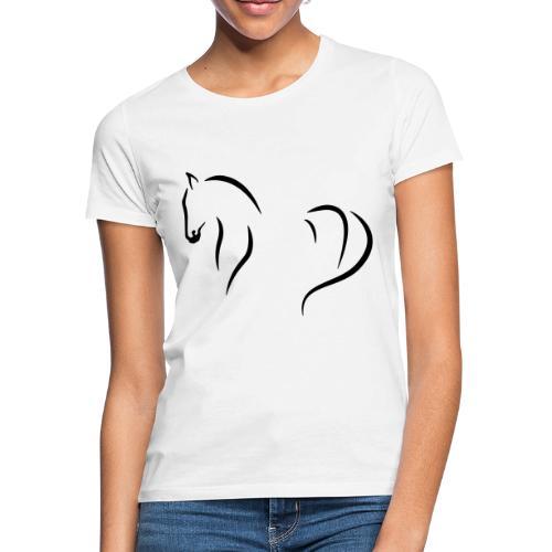 Pferd abstrakt - Frauen T-Shirt