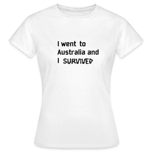 Australia Survivor black edition - T-shirt Femme