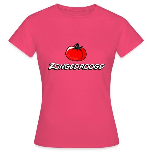 ZONGEDROOGD - Vrouwen T-shirt