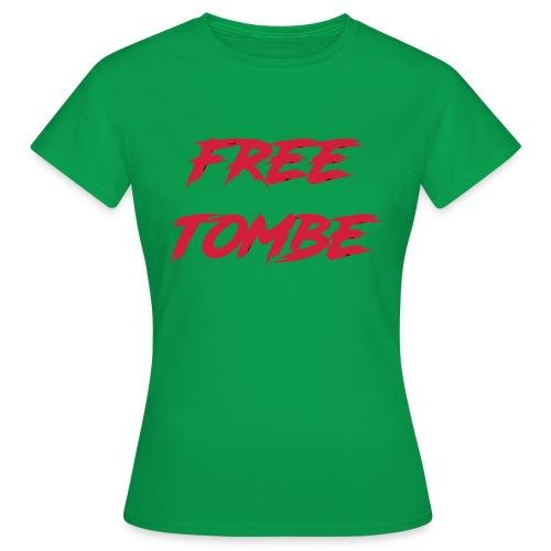 FREE TOMBE AI - Frauen T-Shirt