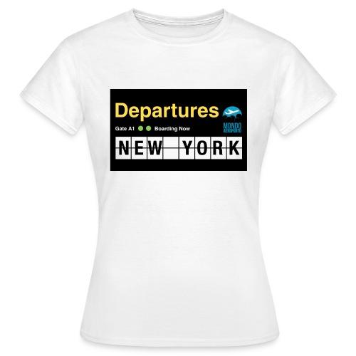 Departures Defnobarre 1 png - Maglietta da donna