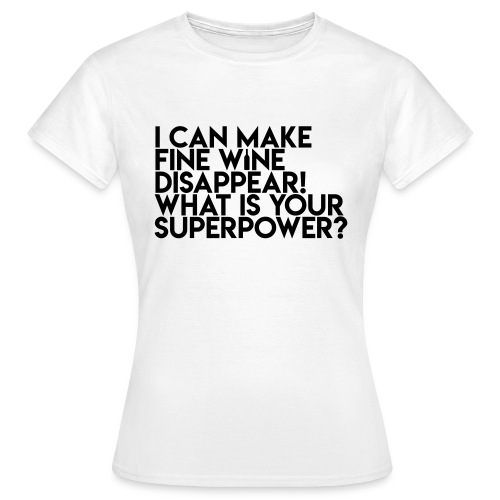 superpower - Dame-T-shirt