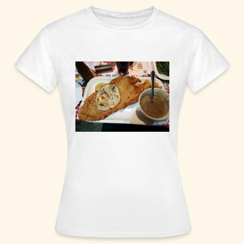 Schnitzel Motiv - Frauen T-Shirt
