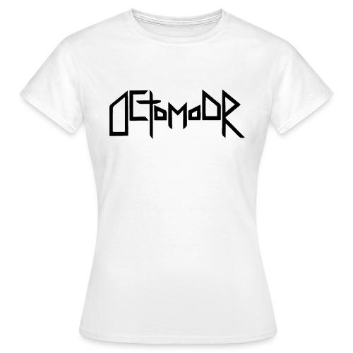 Octomoor Black Logo - Frauen T-Shirt