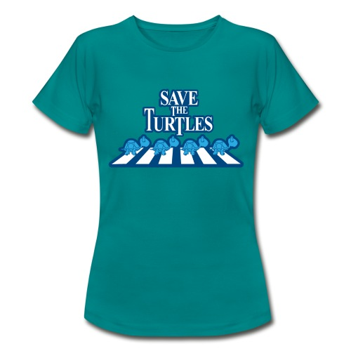 Save the turtles Bluecontest - Women's T-Shirt