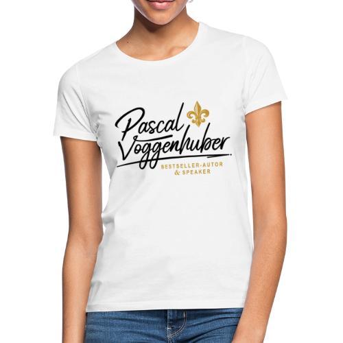 Pascal Voggenhuber Autor & Speaker - Frauen T-Shirt