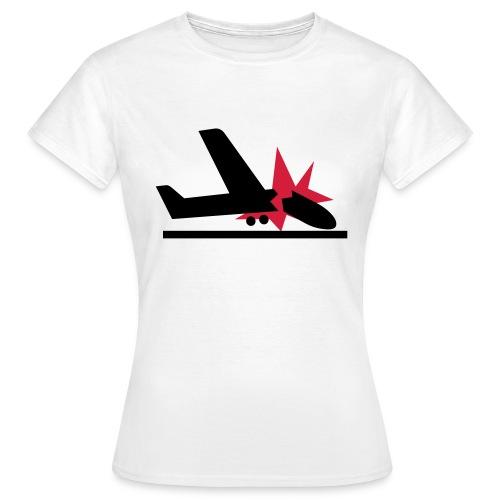 flugzeug - Frauen T-Shirt
