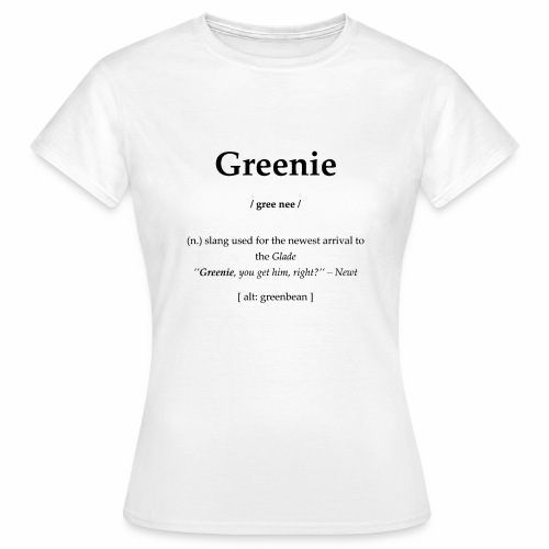 Greenie - Frauen T-Shirt
