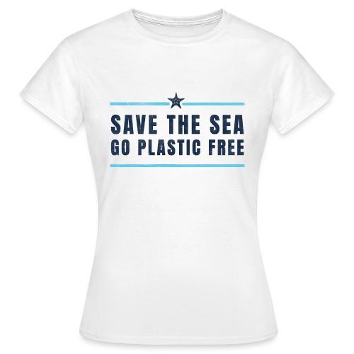 Defend the sea go plastic free Umweltschutz - Frauen T-Shirt